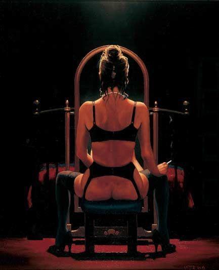 Jack Vettriano Mirror Mirror