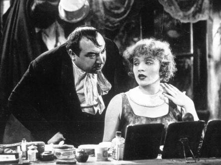 "Kurt Gerron e Marlene Dietrich ne ""L'Angelo azzurro"""